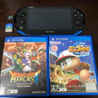 PlayStation Vita - psvita  PCH2000  本体  ソフトセット
