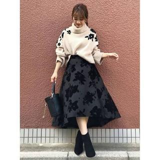 MERCURYDUO - 【新品タグ付】マーキュリーデュオ フロッキー スカート