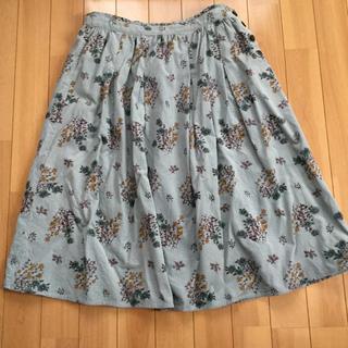 SM2 - SM2 お花柄コーデュロイスカート