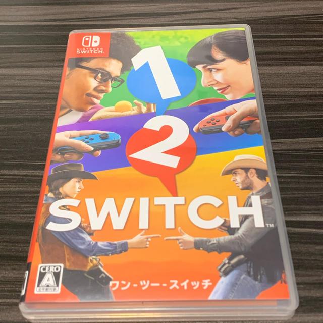 Nintendo Switch(ニンテンドースイッチ)の1-2-Switch エンタメ/ホビーのゲームソフト/ゲーム機本体(携帯用ゲームソフト)の商品写真