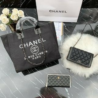 CHANEL - CHANEL シャネル ト-トバッグ ショルダーバッグ 長財布 3点セット 美品
