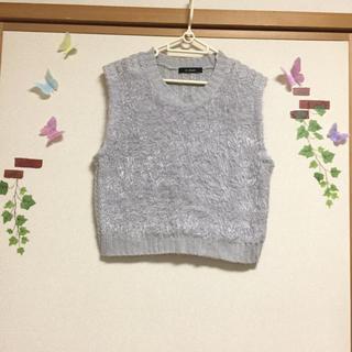 ダブルクローゼット(w closet)の♡ ダブルクローゼット ニット ベスト ♡(ベスト/ジレ)