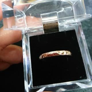 ローリーズファーム(LOWRYS FARM)の新品!ピンクゴールド指輪(リング(指輪))