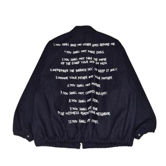 Dickies(ディッキーズ)のexample dickies コラボ デニム ワークジャケット supreme メンズのジャケット/アウター(Gジャン/デニムジャケット)の商品写真