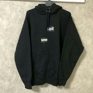 Supreme - 2018AW Split Box Logo Hooded Sweatshirt