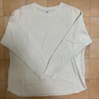 ユニクロ(UNIQLO)のUNIQLO 白ニット(ニット/セーター)