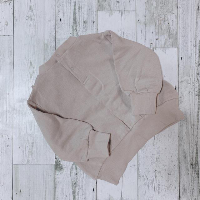 petit main(プティマイン)のプティマイン☺︎レースヨークトレーナー キッズ/ベビー/マタニティのキッズ服 女の子用(90cm~)(Tシャツ/カットソー)の商品写真