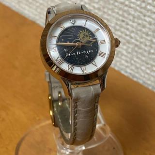STAR JEWELRY - 完売人気商品 STAR JEWELRY スタージュエリー コンビ 革ベルト 時計
