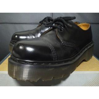 ドクターマーチン(Dr.Martens)の【専用】Dr.Martens 英国製 クレイジーボム UK8 厚底 3ホール(ブーツ)