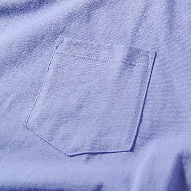 Ron Herman(ロンハーマン)のFruit Of The Loom ビッグロンT パープルL Tシャツ 長袖 メンズのトップス(Tシャツ/カットソー(七分/長袖))の商品写真