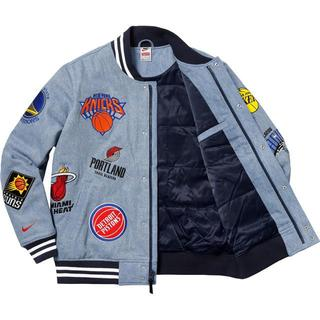 ナイキ(NIKE)のsupreme Nike NBA Teams warm-up jacket L(ブルゾン)