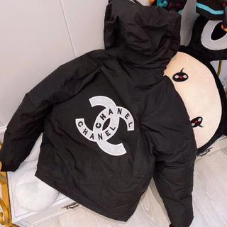 CHANEL - シャネルブラックジャケットコート 男女兼用