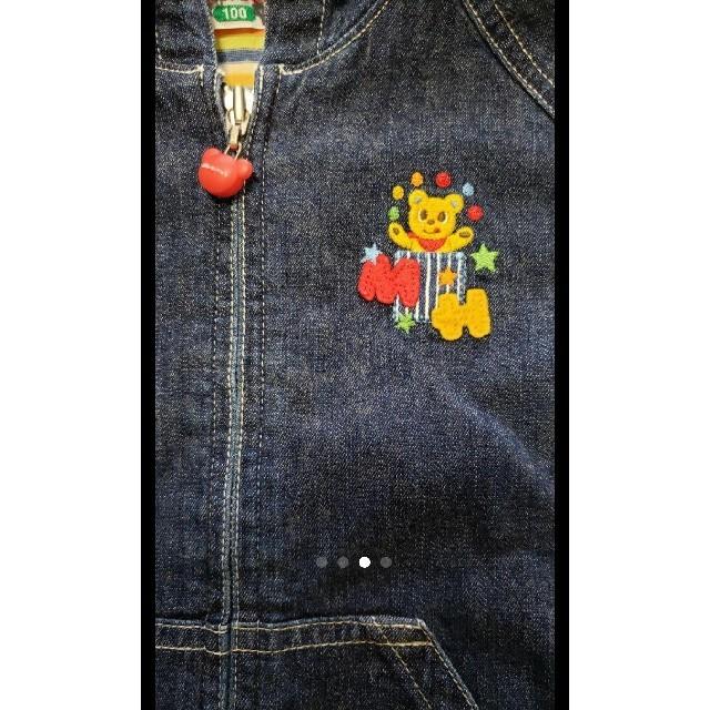 mikihouse(ミキハウス)のミキハウス ジャケット キッズ/ベビー/マタニティのキッズ服 男の子用(90cm~)(ジャケット/上着)の商品写真