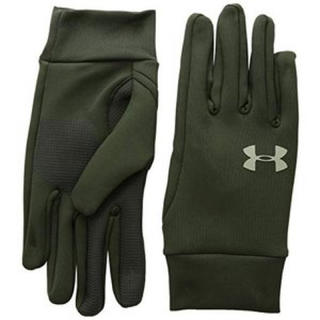 UNDER ARMOUR - 40%オフ アンダーアーマー 手袋 LG グリーン グローブ 防寒 メンズ 冬用