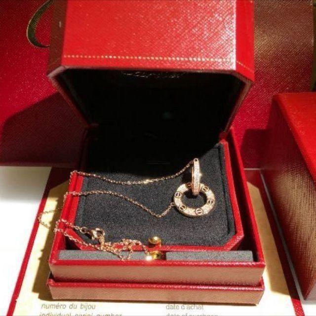 Cartier(カルティエ)のCartierネックレス レディースのアクセサリー(ネックレス)の商品写真