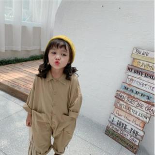 つなぎ 韓国子供服(ワンピース)
