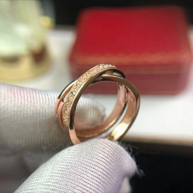 Cartier(カルティエ)のカルティエ リング 美品 レディースのアクセサリー(リング(指輪))の商品写真