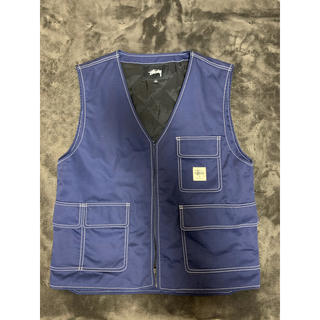 STUSSY - stussy work vest