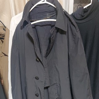 BURBERRY BLACK LABEL - コート 黒 古着 ビンテージ 90s