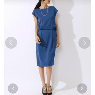 TOMORROWLAND - 【新品】定価3万クラシカルブラックドレス