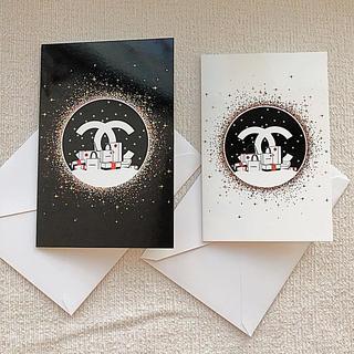 CHANEL - 【新品】CHANEL シャネル クリスマスカード 2019