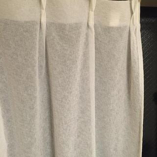 ムジルシリョウヒン(MUJI (無印良品))のレースカーテン*無印良品(レースカーテン)