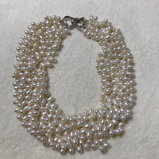 Tiffany & Co. - 淡水パールネックレス 本真珠 5連 結婚式 美品 パーティー