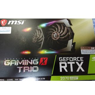 MSI RTX 2070 SUPER GAMING X TRIO 内袋未開封