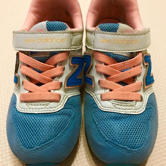 New Balance(ニューバランス)のニューバランス スニーカー 17センチ キッズ/ベビー/マタニティのキッズ靴/シューズ (15cm~)(スニーカー)の商品写真