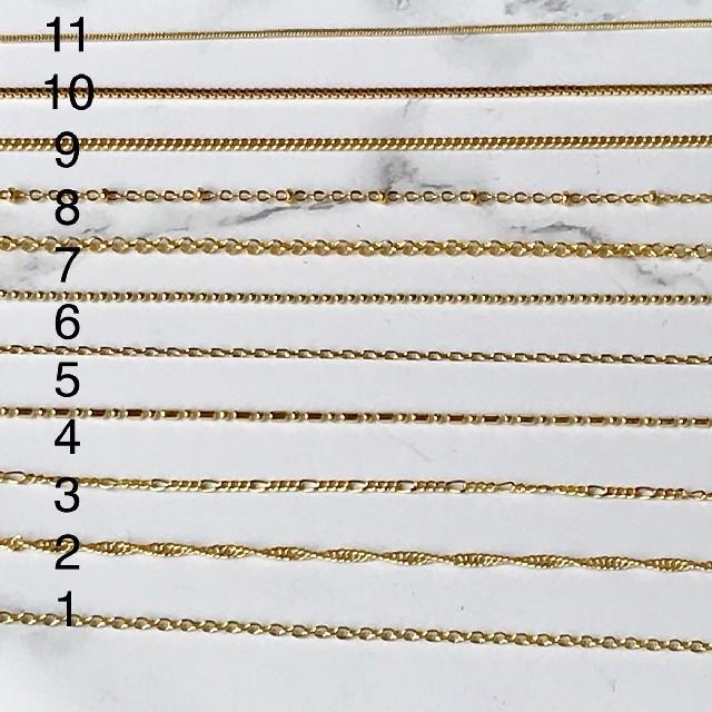 TODAYFUL(トゥデイフル)の18kgf ゴールド ネックレス チェーン チョーカー 刻印有 スクリュー レディースのアクセサリー(ネックレス)の商品写真