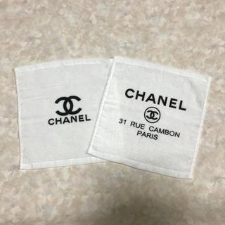 CHANEL - ⭐️CHANELのハンドタオル【訳あり】⭐️