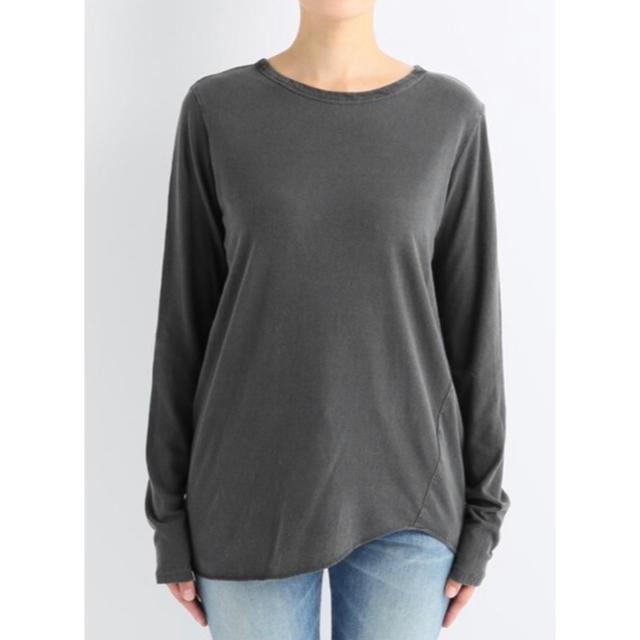 DEUXIEME CLASSE(ドゥーズィエムクラス)の新品* ドゥーズィエムクラス Layering Tシャツ グレー レディースのトップス(Tシャツ(長袖/七分))の商品写真