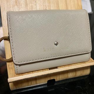 kate spade new york - ケイトスペード コインケース パスケース ベージュ
