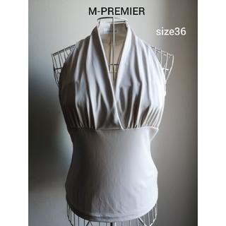 M-premier - 美品 M-PREMIER 美ラインカットソー