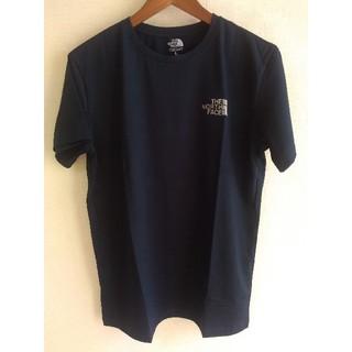 THE NORTH FACE - ノースフェイス ワンポイント ロゴ 半袖 Tシャツ L ネイビー