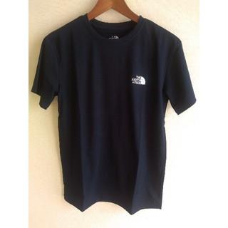 THE NORTH FACE - ノースフェイス ワンポイント ロゴ 半袖 Tシャツ M ネイビー