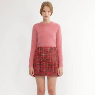JILLSTUART - ジルスチュアート ペギーツィード台形スカート