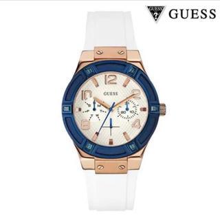 GUESS - GUESS 腕時計 レディース ジェットセッター W0564L1 白