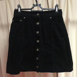INGNI - 《INGNI》コーデュロイ ボタン台形スカート
