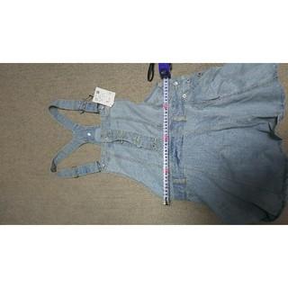 ロデオクラウンズ(RODEO CROWNS)のデニムスカート(ひざ丈スカート)