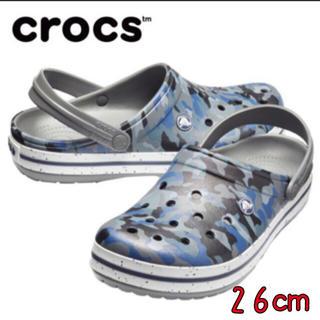 クロックス(crocs)の新品 26㎝ クロックス クロックバンド グラフィック 3.0 クロッグ(サンダル)