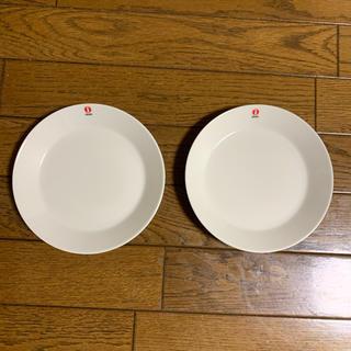 イッタラ(iittala)のイッタラ ティーマ  プレート 15cm   ホワイト 2枚(食器)