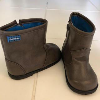 ファミリア(familiar)のファミリア  ブーツ  サイズ13.5(ブーツ)