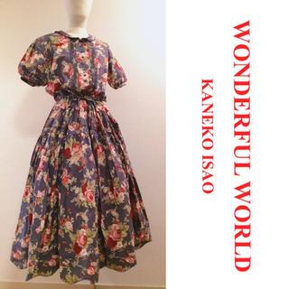 PINK HOUSE - 【WONDERFUL  WORLD】♡ 花柄ワンピース+.* ピンクハウス