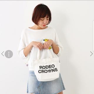 ロデオクラウンズワイドボウル(RODEO CROWNS WIDE BOWL)のRODEO CROWNS 1度短時間使用の美品(ハンドバッグ)