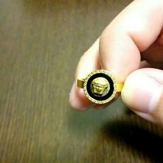 14号 メデューサリング 指輪 男女兼用 ヴェルサーチ似