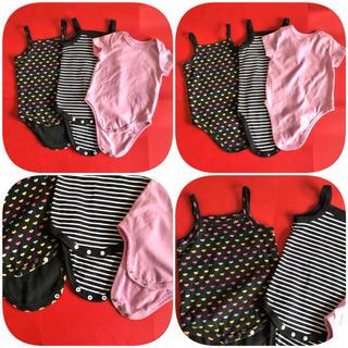 DKNY - ⑨ 赤ちゃん 肌着 下着 キャミソール DKNY baby など 2枚+1枚