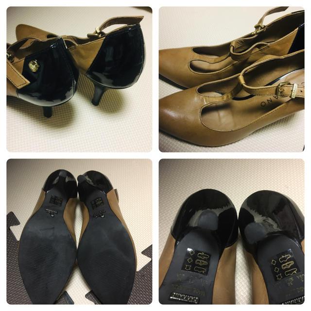 ☆ナノユニバース購入☆  CARRANDバイカラーパンプス レディースの靴/シューズ(ハイヒール/パンプス)の商品写真