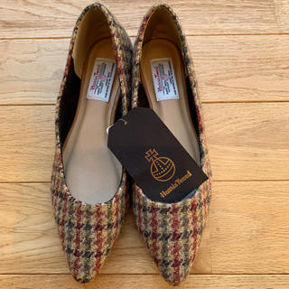 Harris Tweed - Harris Tweed パンプス 靴 Lサイズ