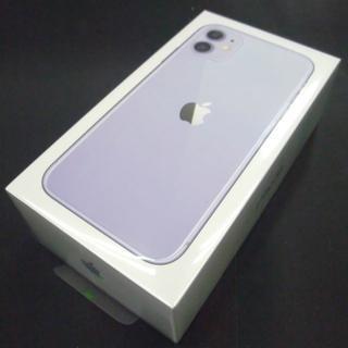 Apple - ストア購入・未アクティベート iPhone11 64GB パープル